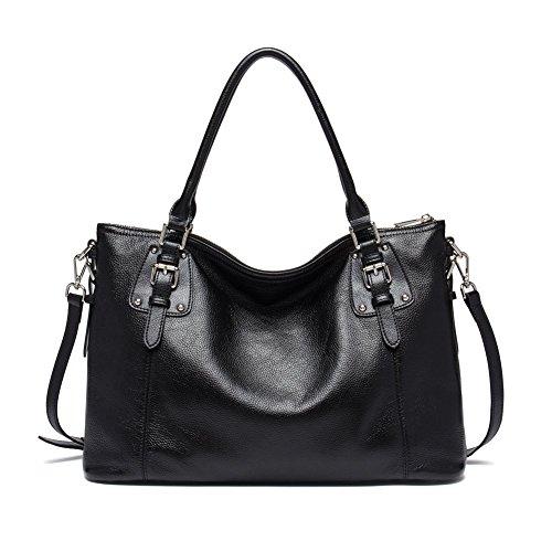 BOSTANTEN Women's Large Vintage Soft Leather Designer Handbags
