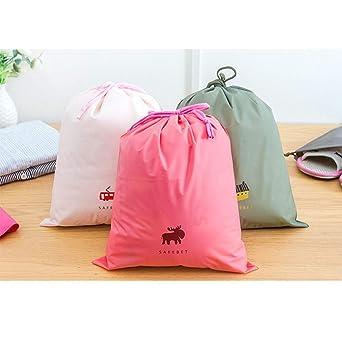 IGEMY - Bolsa de almacenamiento con cordón, impermeable, para ropa, zapatos, ropa