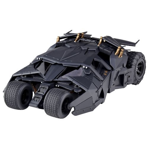 Special effects Revoltech 043 Batman Begins The Dark Knight Dark Knight Rising Batmobile tumbler non-scale ABS & PVC painted action figure