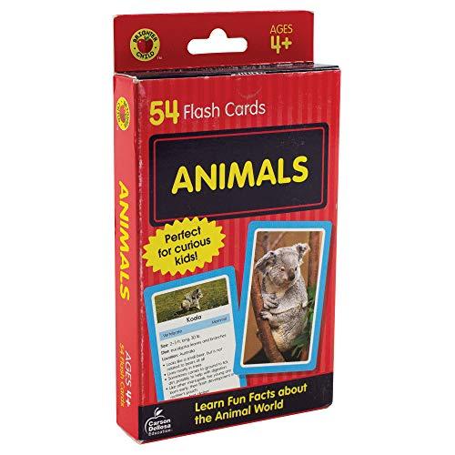Animals Flash Cards: 54 Flash Cards por Brighter Child,Carson-Dellosa Publishing