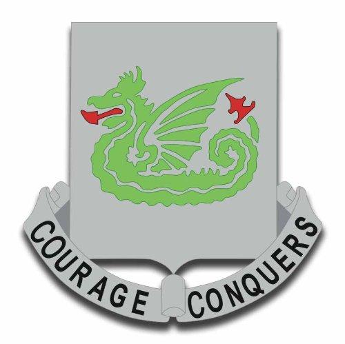 Military Vet Shop US Army 37th Armor Regiment Window Bumper Sticker Decal - Air 37th