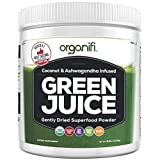 organic all day energy greens - Organic Superfood Powder- Organifi Green Juice Superfood Supplement - 30 Day Supply - USDA Certified Organic Vegan Greens- Hydrates and Revitalizes - Boost Immune System - Support Relaxation and Sleep