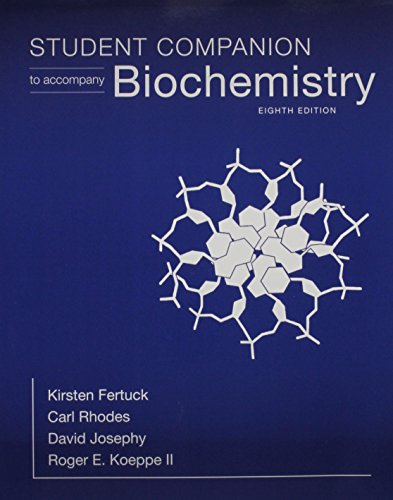 1464188033 – Student Companion for Biochemistry