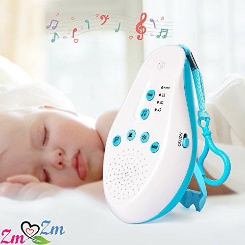 ZmZm Deep Sleep And Grooming Kit For Newborns, Infants & Toddlers. Smart Interactive Soother With Cry Sensor & Healthcare Kit (Bundle-11 items:1 Baby Soother + 10 Pcs Baby Nursery kit)-Blue by ZmZm (Image #9)