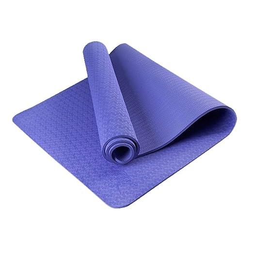 QYSZYG Estera de Yoga Que se ensancha 80 cm sin Sabor Doble ...