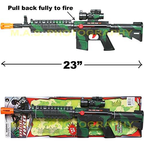 - CAR-15 CARBINE M-16 TOY ASSAULT RIFLE KID BOY MACHINE GUN SOUND MILITARY ARMY