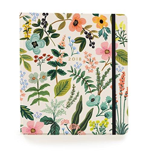 Rifle Paper Co 17 Month Agenda 2018 (Planner) (Large, Herb Garden)