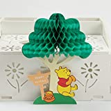 3D Birthday Pop Up Card and Envelope - Funny Unique Pop Up Greeting Card Gift for Birthday saying Happy Birthday. Winnie the Pooh Happy b-day