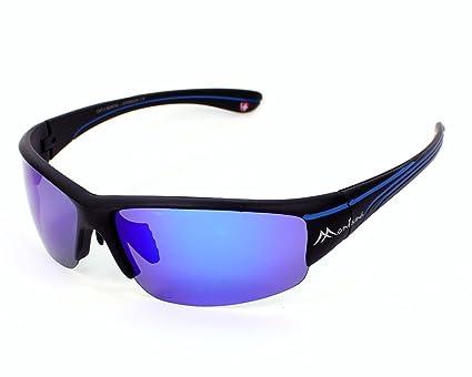 Montana gafas de sol SP 300 B Plástico Negro Mate - Matt ...