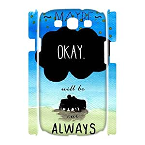 E-Isam Samsung Galaxy S3 I9300 Case Okay,Customized Gifts Hard 3D Case