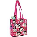 Betty Boop Reusable Tote Bag - Zippered Pockets & Waterproof Exterior