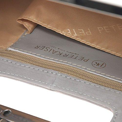 Peter Kaiser Peter Topas 99 Womens 313 Kaiser Clutch Grey Bag rEqCwUr