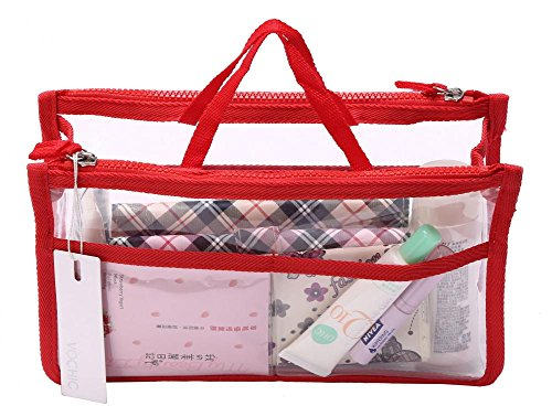 Travel Smart Hand Pouch Bag In Bag Organiser In Cosmetic Gadget Purse Organizer