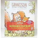 Hallmark KOB8143 Grandson You Make the World Grand Recordable Storybook