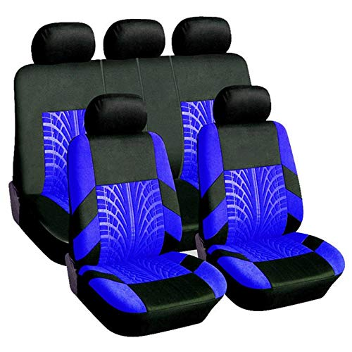 Seat Cover Universal Multiclrseat Cver Persnality Stitching Autmtive Chairs Prtective Sleeve Clth Autmbile Seats Cvers
