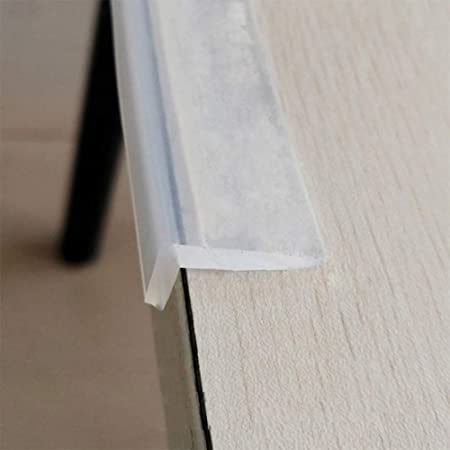 Edge Protector 100 Silicone 6ft Baby Proofing Corners Clear Guards Pre Tape Adhesive Soft For Kids Safety Child Table Cabinets Furniture Bumper 3ft Clear 0 2x0 8in Amazon Ca Baby
