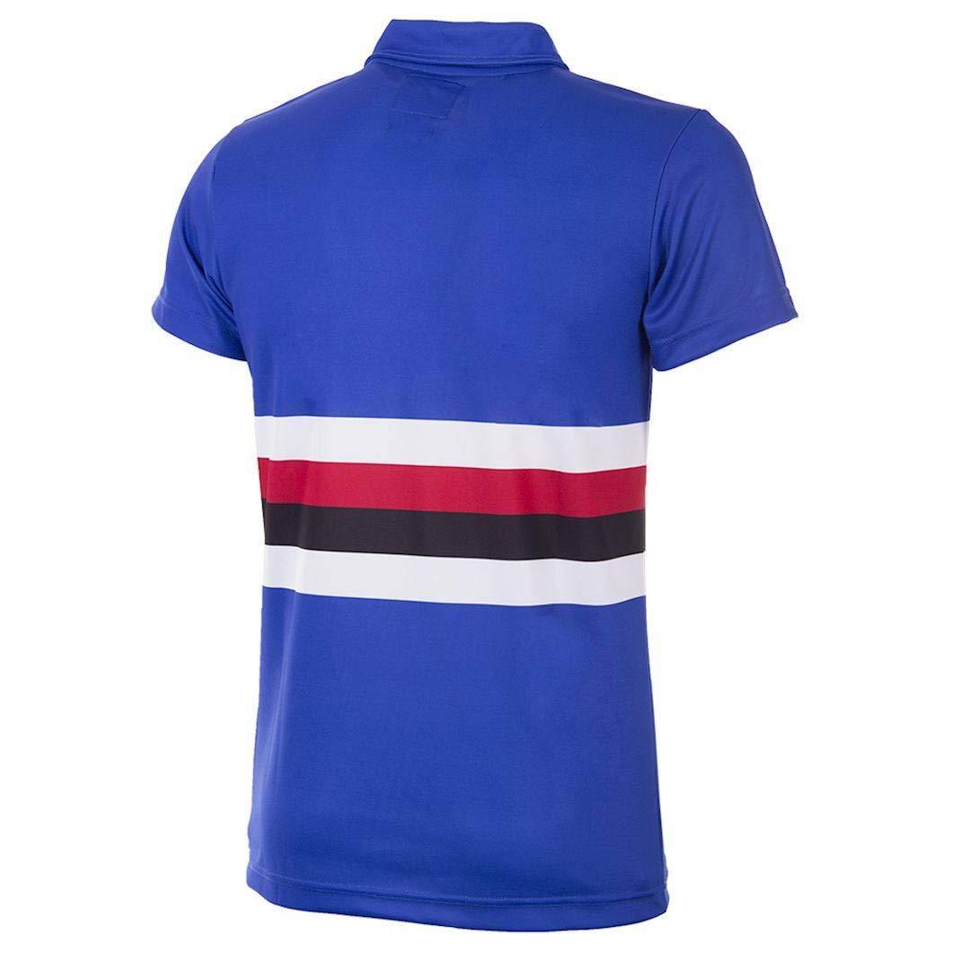 Sampdoria Retro Copa Home Shirt 1991//92