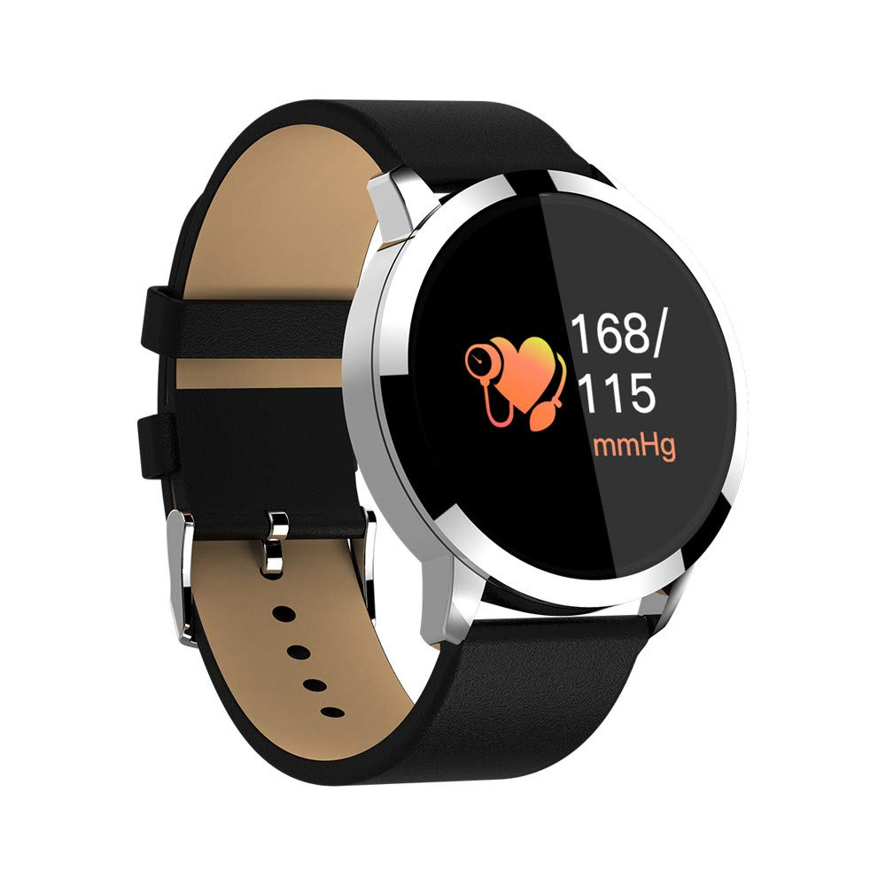 Amazon.com: KUNAW W1 Smart Watch, Fitness Tracker Bluetooth ...
