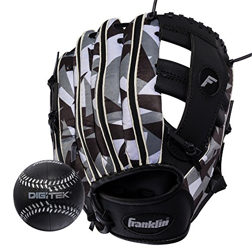 Glove Right Hand Thrower (Franklin Sports 22839   RTP Teeball Performance Gloves & Ball Combo, 9.5