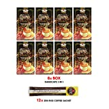 8 boxes GanoCafe 3 in 1 Instant Coffee + FREE sample +