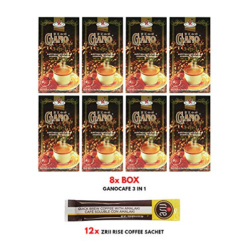 8 boxes GanoCafe 3 in 1 Instant Coffee + FREE sample + by Gano Excel (Image #2)