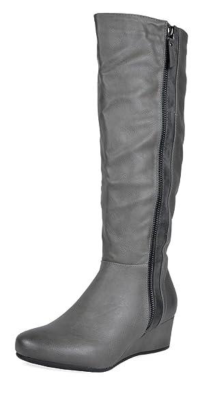 Women's Low Wedege Fashion Boots