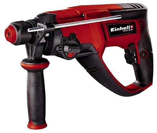 Einhell Marteau-perforateur /électrique TE-RH 26 4F 800 W , Mandrin SDS Plus,  Livr/é en coffret avec but/ée de profondeur en m/étal et une poign/ée suppl/émentaire avec rainurage anti-d/érapant
