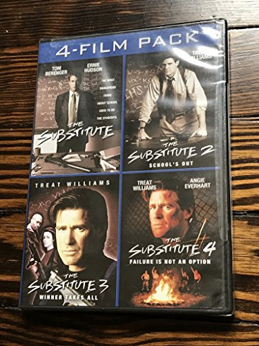Substitute Music - The Substitute 4-Film Pack (The Substitute / The Substitute 2: School's Out / The Substitute 3: Winner Takes All / The Substitute 4: Failure Is Not An Option)