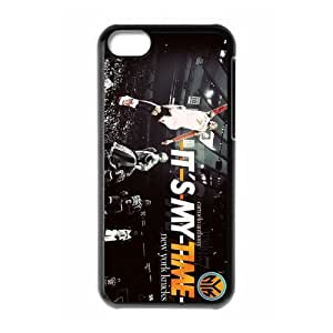 NBA New York Knicks Super Star&Carmelo Anthony&Melo Case Cover for iPhone 5C- Personalized Cell Phone Protective Hard case Shell