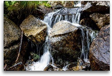 Calvendo Bachlauf im National Park Aigüestortes i estany de Sant maurici, 75x50 cm
