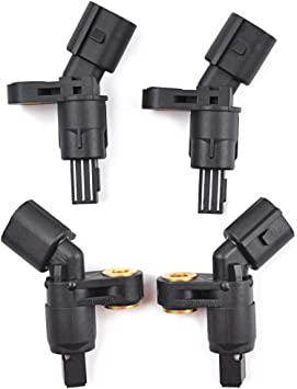 4PCS Front Rear Wheel Speed ABS Sensor OEM 1J0927803 For Audi A3 TT VW Beetle US