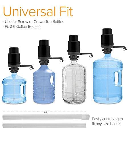 NWE Bomba de agua manual universal, se adapta a la mayoría ...