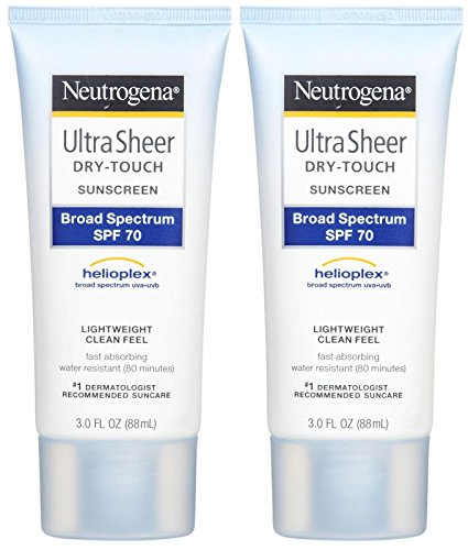 Neutrogena Ultra Sheer Broad Spectrum Sunscreen SPF 70-3 oz