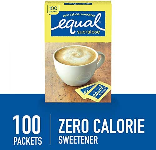 Sugar & Sweetener: Equal Yellow (Sucralose)