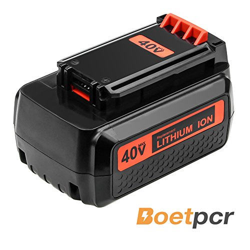LBXR2036 2.5Ah Replace for Black and Decker 40V lithium Battery Max LBX36 LBX2040 LBXR2036 LBX2540 LBX1540 LST540 LCS1240 LBX1540 LST136W Series Cordless Power Tool by Boetpcr