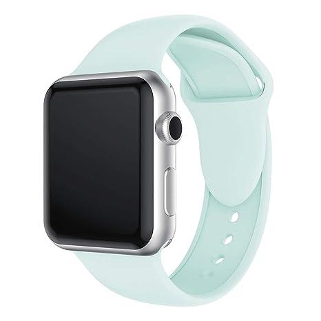 Amazon.com: YSH Smart Watch Band Wristband Double Rivets ...