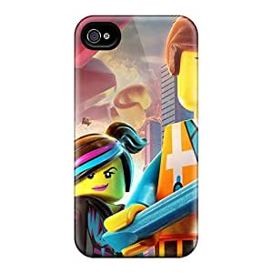 Iphone 4/4s Vgy16610byAK Custom HD The Lego Movie Image Anti-Scratch Cell-phone Hard Covers -ColtonMorrill