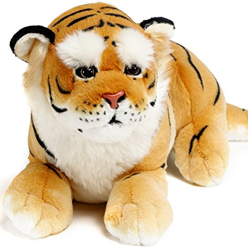 Aung the Burmese Tiger | 27 Inch Large Stuffed Animal Plush | By VIAHART (Big Panther Stuffed Animal compare prices)