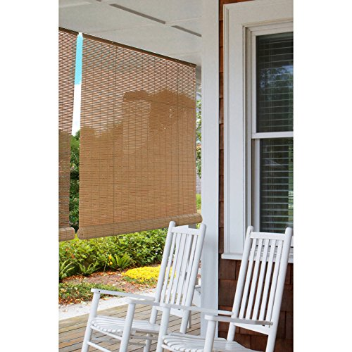 Indoor Outdoor Bamboo Reed Blinds Roll Up Sun Shade Patio Porch Window 36 X  72