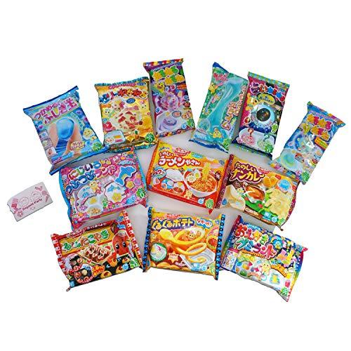 (Assorted 5 bags Kracie Poppin' Cookin' DIY Gummy Candy Making Kit Takoyaki, Nerune, Ramen, Tsubupyon)