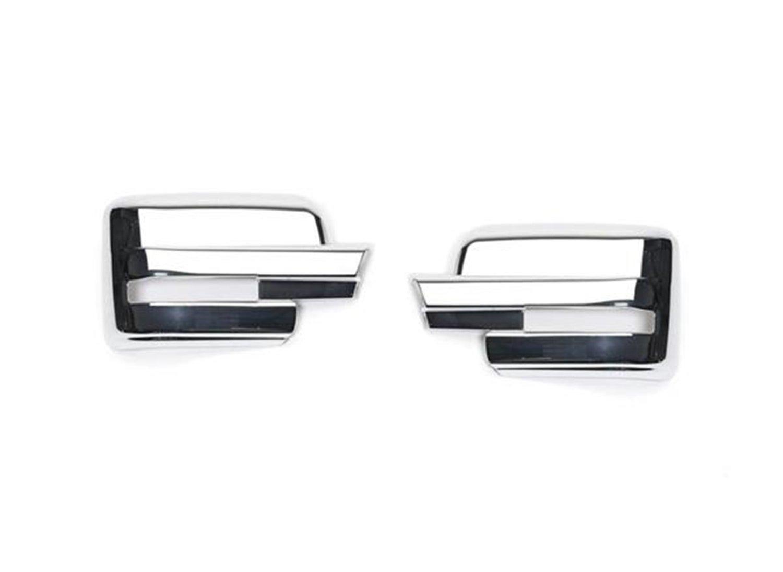 Putco 400502 Chrome Trim Mirror Overlays