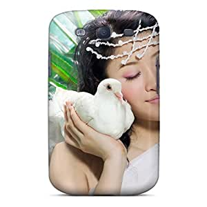 Premium Durable Beautiful Asian Model Fashion Tpu Galaxy S3 Protective Case Cover
