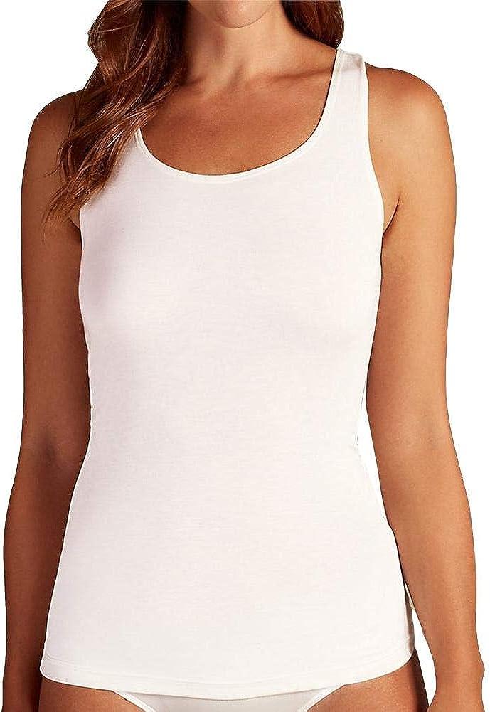 Ex Marks and Spencer Grey Thermal Built-up Shoulder Vest Size 6-18 P166.1