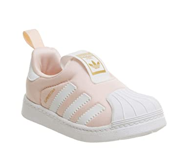 online store fa56d 28066 adidas Superstar 360 I, Unisex Kids' Low-Top Slippers
