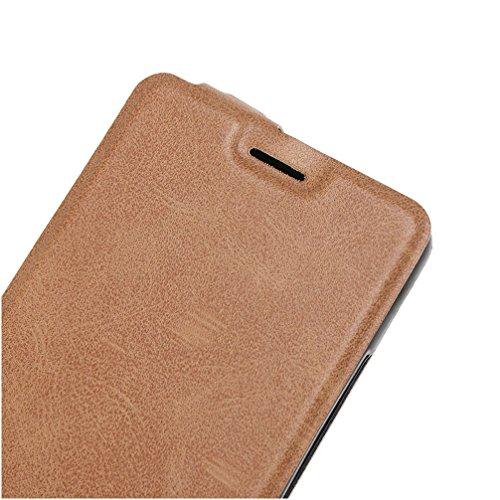 Funda Samsung Galaxy A5(2017),Manyip Caja del teléfono del cuero,Protector de Pantalla de Slim Case Estilo Billetera con Ranuras para Tarjetas, Soporte Plegable, Cierre Magnético C