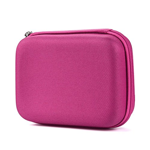 Coohole 1PC Case for 10 Roller Bottles Essential Oil Case Carry Holder Storage Aromatherapy Bag (Pink) (Storage Therapy)