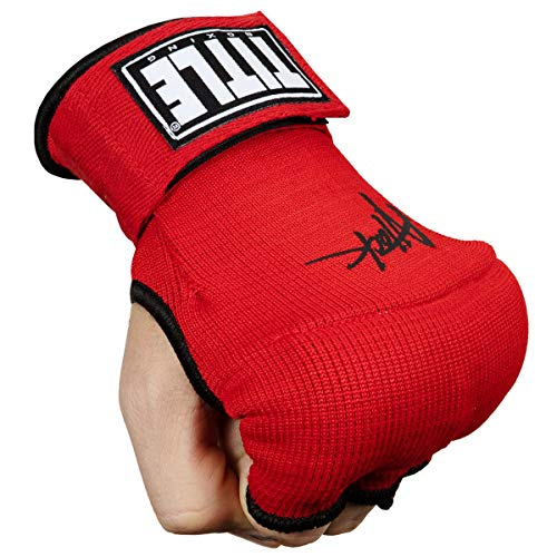 Title Boxing Attack Nitro Speed Wraps 2.0, Red/Black, Youth