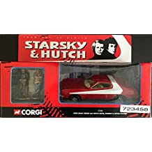 STARSKY & HUTCH 5 Inch 1974 FORD GRAN TORINO Diecast Corgi Vehicle with White Metal Starsky & Hutch Figures from the Classic Television Series by Corgi