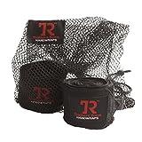 TrainersRoom TR Pro-Handwraps Black 1 pair (2 wraps)