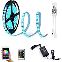 LED Light Strip Compatible with Alexa, Google Home,...